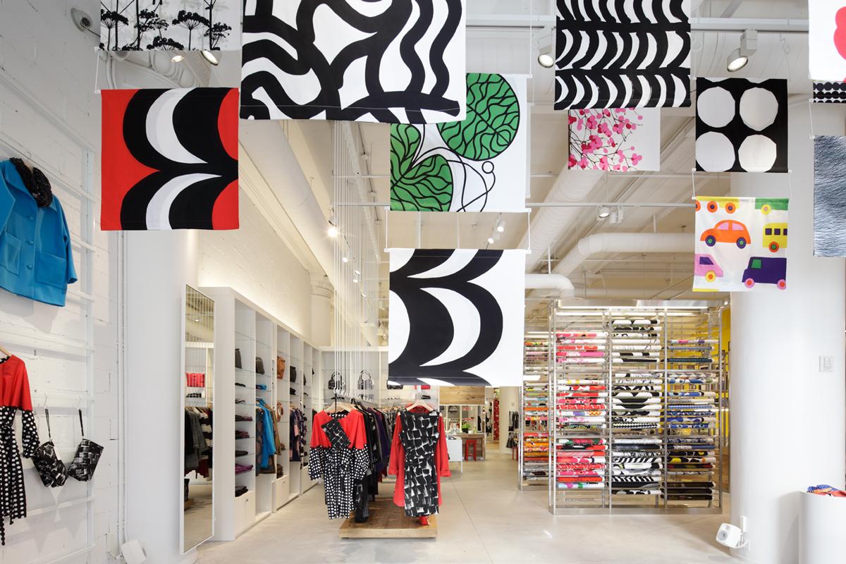 [小林 マナ(設計事務所ima)] 『MARIMEKKO NYC Flagship Store』