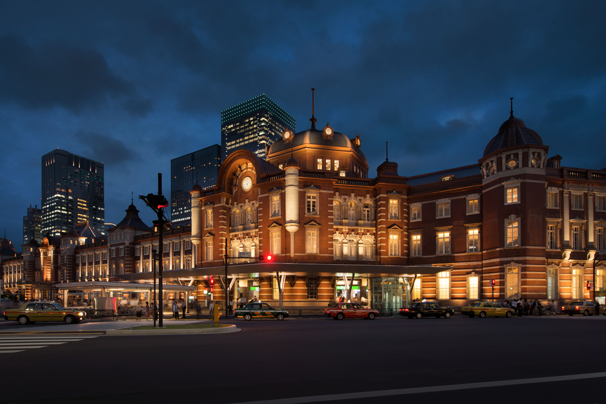 [Mende Kaoru] Lighting design for the preservation and restoration of the Tokyo Station Marunouchi Building