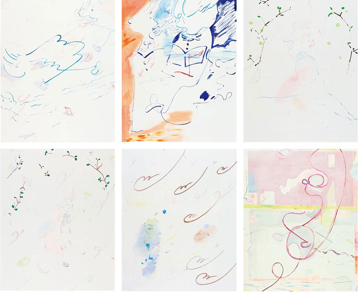 [石川 遼] 『かけっこ』『Untitled』『休日』『休日』『散歩』『Untitled』