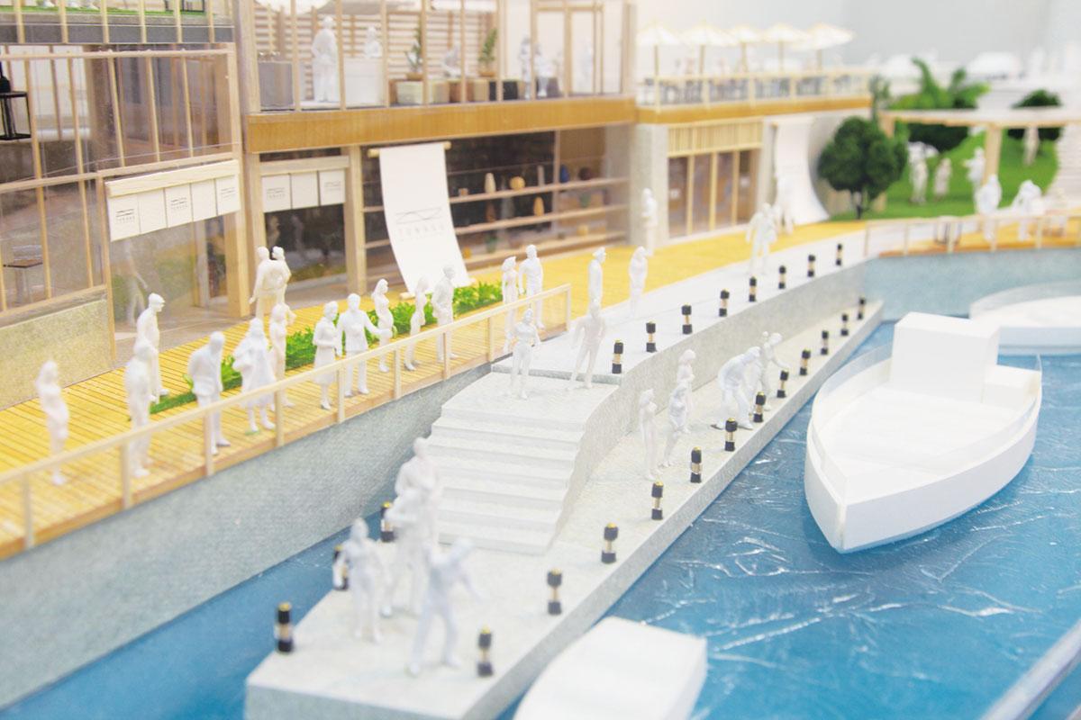 [Iwase Yukari] 『日本橋船着場ーTUNAGU』