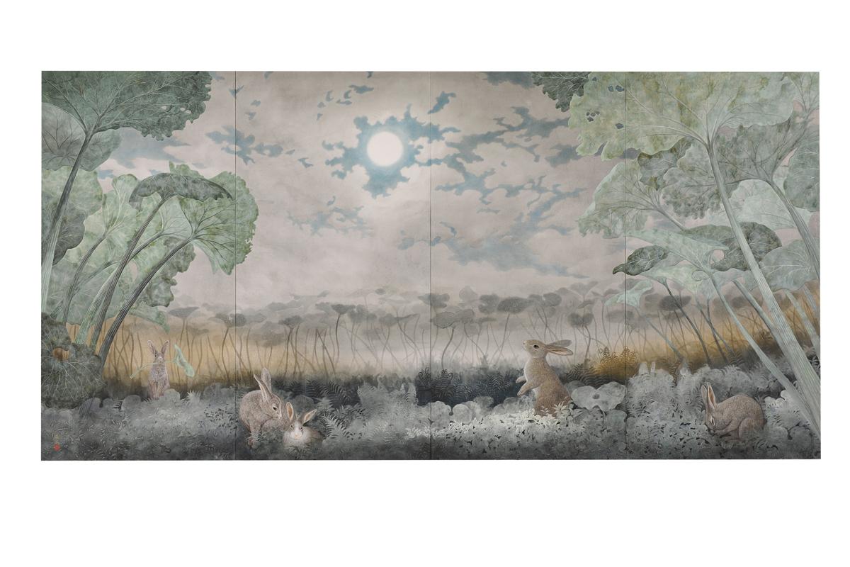 [Nishida Shunei] 『コロボックルの月』