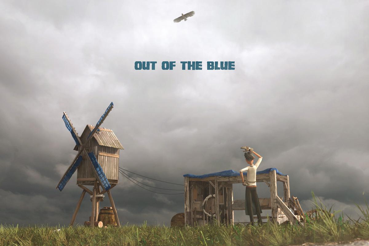 [平野 崇伸(takanabu)] 『OUT OF THE BLUE』