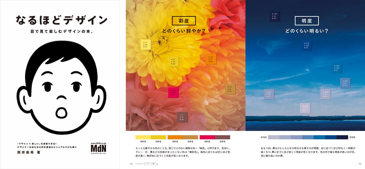 [Tsutsui Miki] 『なるほどデザイン〈目で見て楽しむ新しいデザインの本。〉』(MdN Corporation)