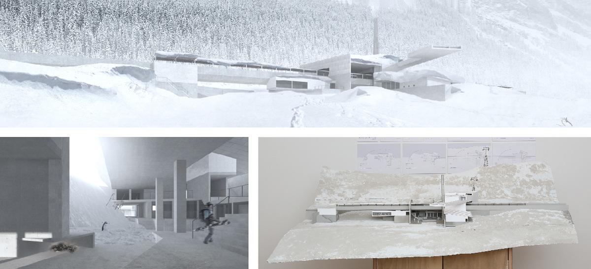 [渡邉 和] 『雪のある駅』