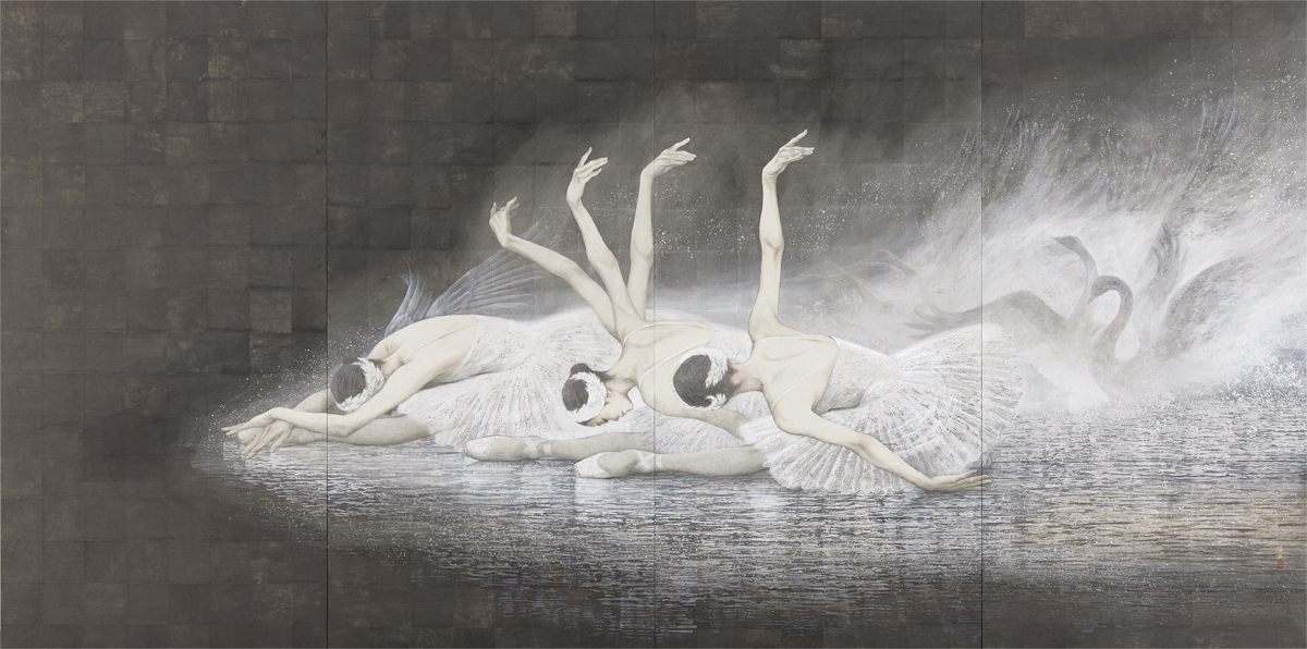 [西田 俊英] 『瀕死の白鳥』