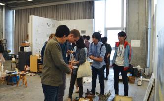 パリ国立高等美術学校との協定校プロジェクト