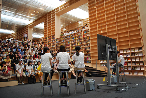 真夏のオープンキャンパス