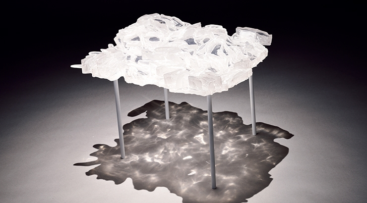 工芸工業デザインコース|チン キ『しわしわのテーブルNo.2』