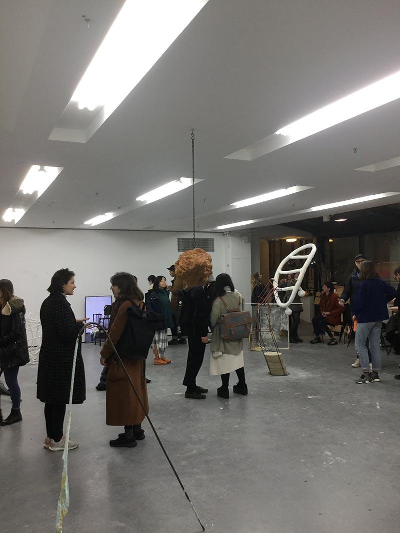 学期末のオープンスタジオ