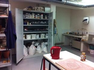 写真:亀山恵 セラミックの工房