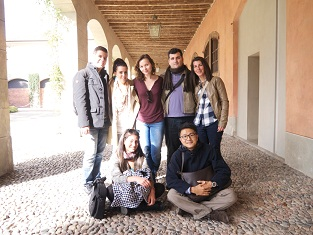 写真:山口真樹 スタジオのグループと事例研究のために行った美術館で