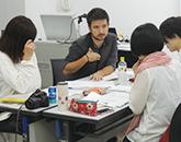 美大生のための英語プログラムの様子
