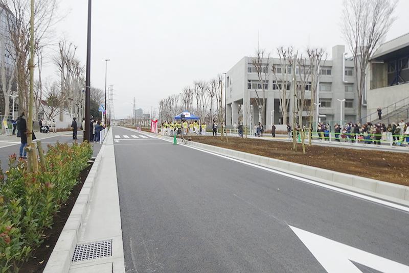 小平都市計画道路3・3・3号線開通式プレイベント