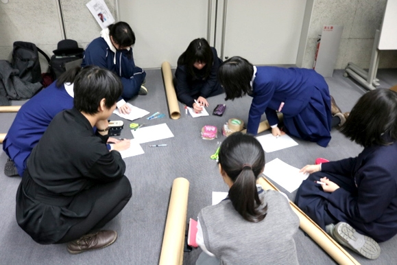 青森県高等学校文化連盟美術部東青地区講習会