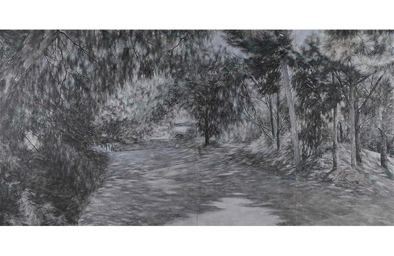 日本画コース 『夢・記憶』 ワン ジェフェイ