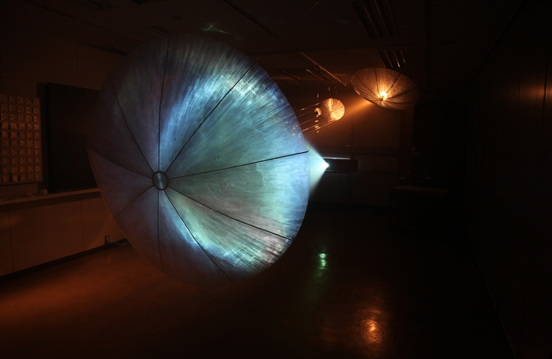 空間演出デザインコース『雲の種まき cloud seeding』神楽岡久美