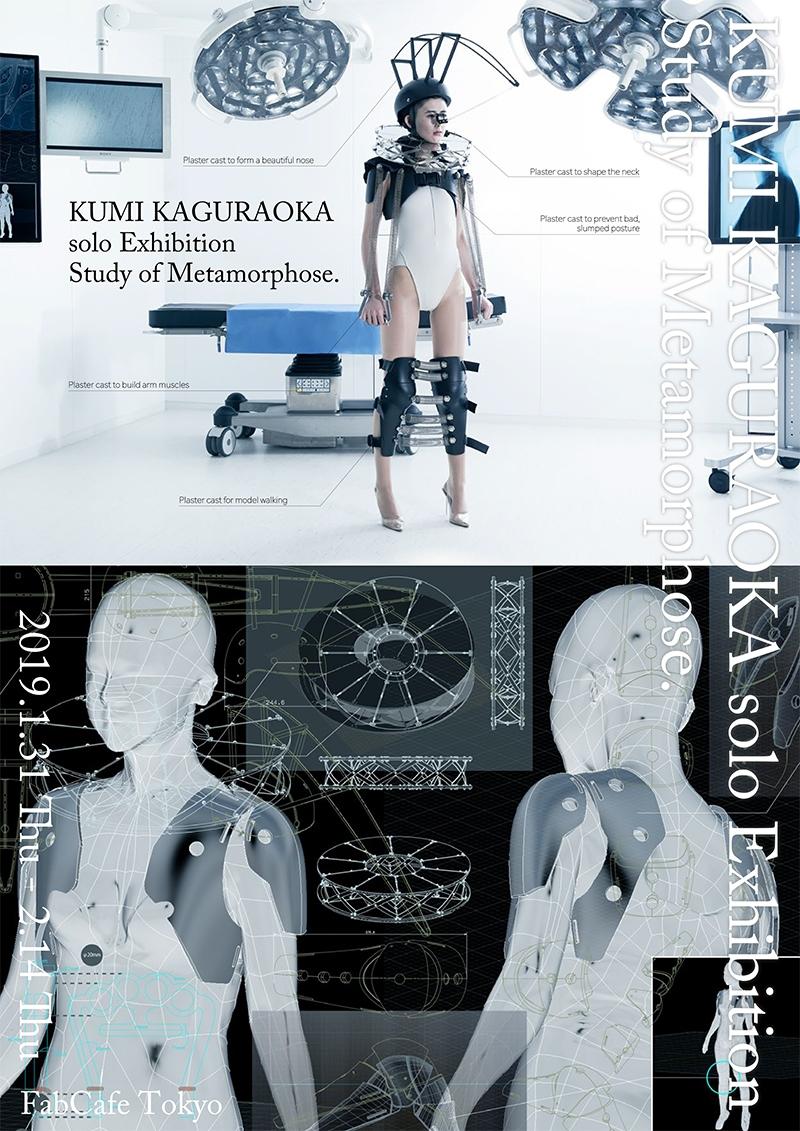 KUMI KAGURAOKA  solo Exhibition  Study of Metamorphose.