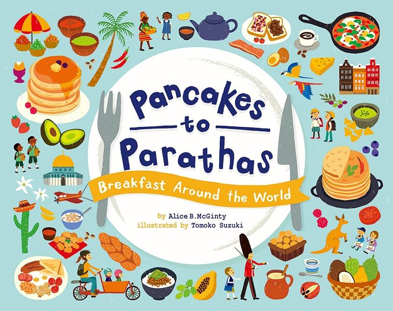 スズキトモコ個展 絵本「Pancakes to Parathas」出版記念展