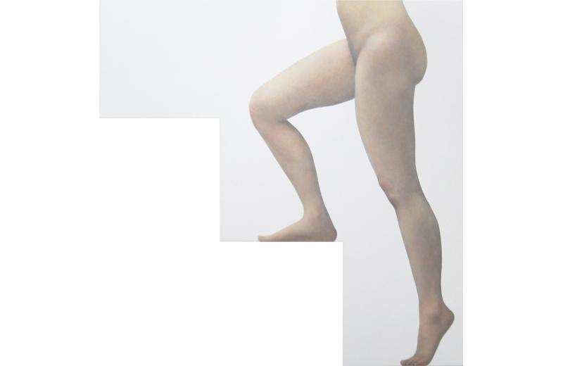 『階段を昇る裸婦』渡辺佑基
