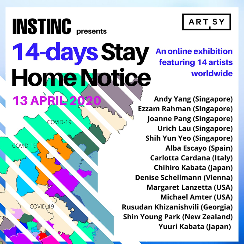 14-days STAY HOME NOTICE(14日間の待機)