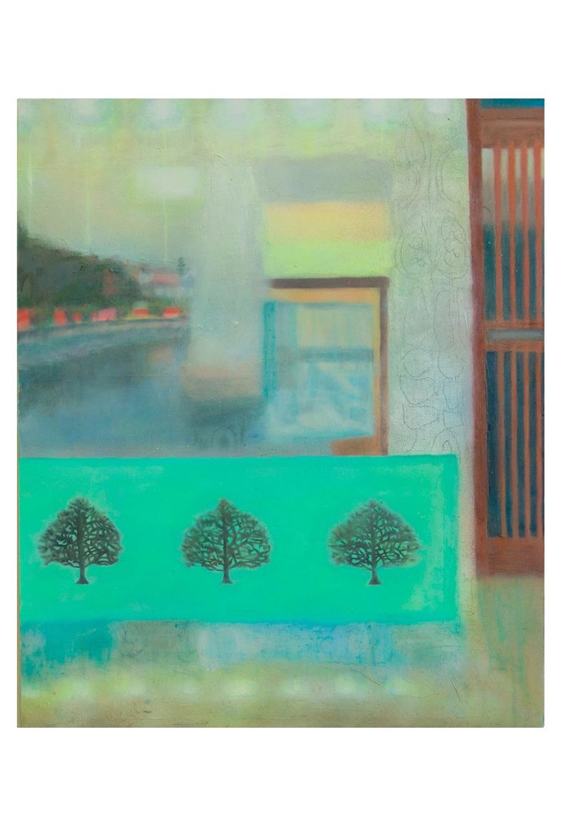 安藤由莉個展「Tree pattern guard fence etc.」