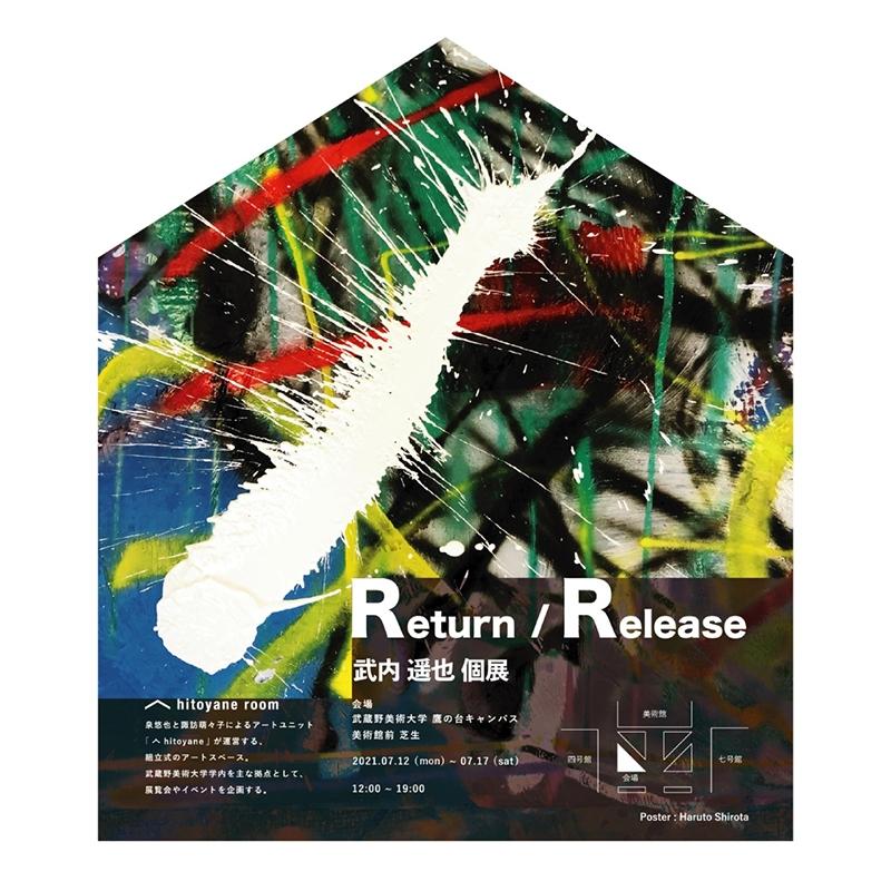 𠆢 hitoyane room 第5回 武内遥也個展『Return / Release』