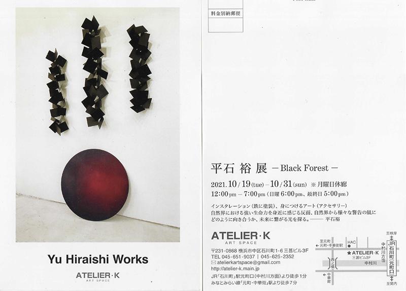 平石 裕 個展 -ブラック・フォレスト- Hiraishi Yu -Black Forest-